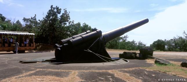 Into historic artillery? Visit Corregidor
