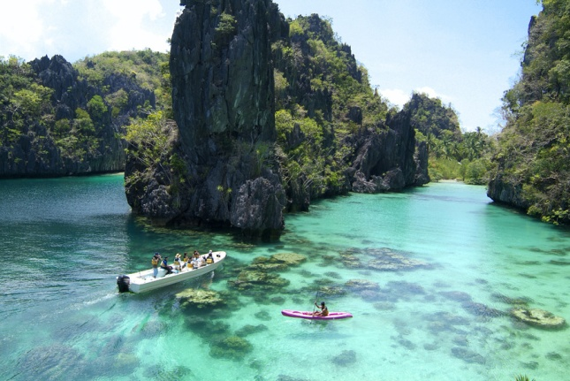 Kayaking at the Big Lagoon in El Nido is one of my best travel experiences